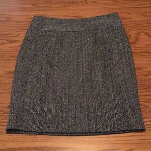 Context by Lord & Taylor Career Tweed Pencil Skirt